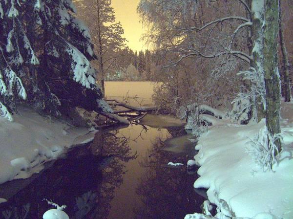 Photograph - Winter River by Sami Tiainen