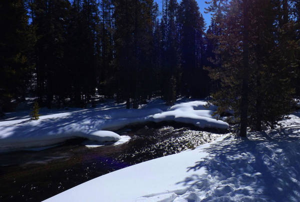 Photograph - Winter River View by C Sitton