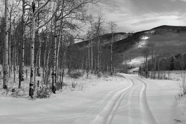 Photograph - Winter Road At Kenosha Pass by Cascade Colors