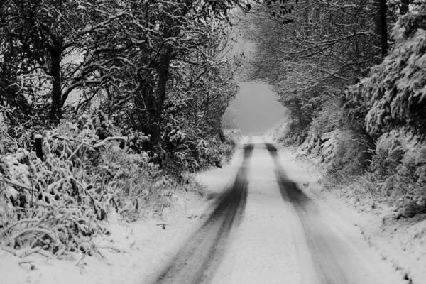 Photograph - Winter Road by Gavin MacRae