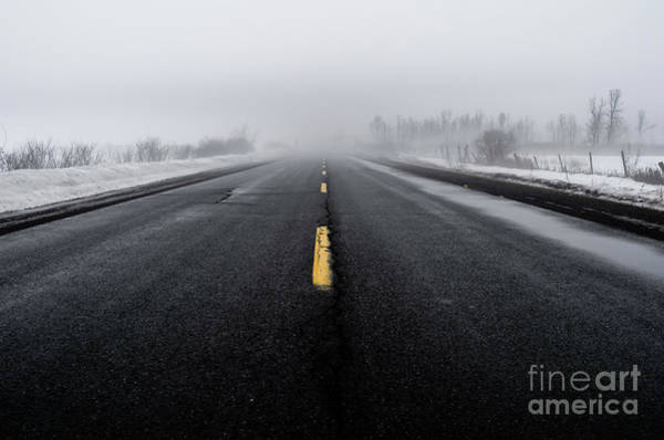Photograph - Winter Road by M G Whittingham