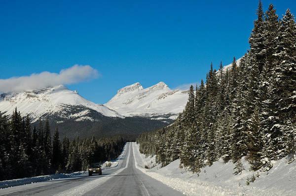 Photograph - Winter Road  by U Schade