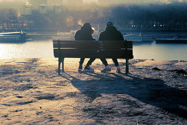 Wall Art - Photograph - Winter Romance by Stelios Kleanthous