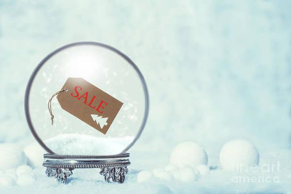Wall Art - Photograph - Winter Sale Snow Globe by Amanda Elwell
