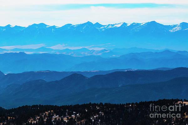 Photograph - Winter Sangre De Cristo Mountains by Steve Krull