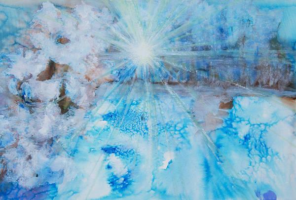 Tara Painting - Winter Scene by Tara Thelen