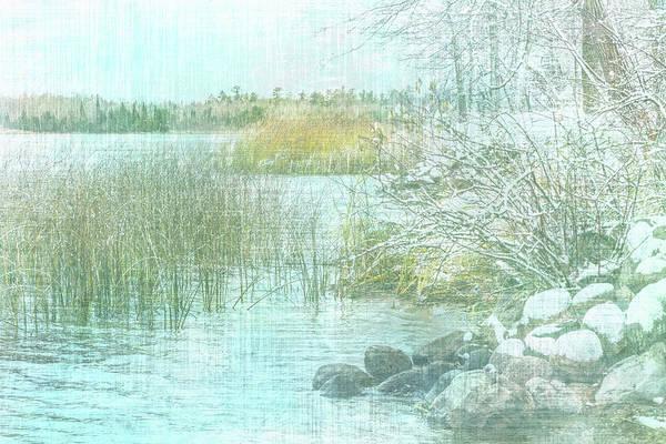 Photograph - Winter Shoreline #1 by Patti Deters