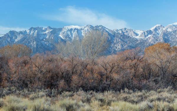 Eastern Sierra Photograph - Winter - Sierra Nevada by Joseph Smith