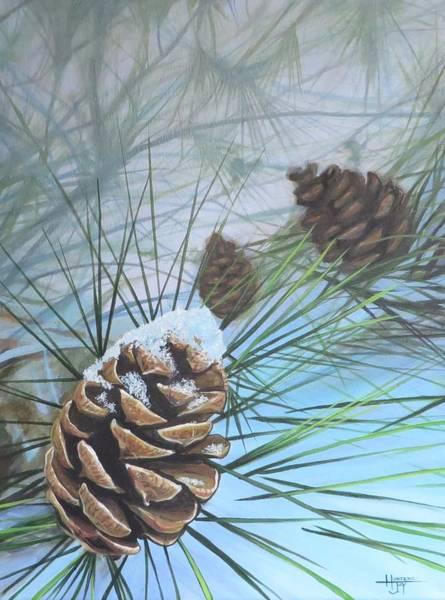 Wall Art - Painting - Winter Silence by Hunter Jay