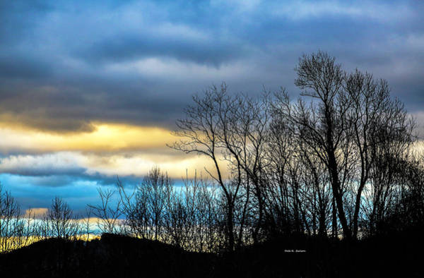 Photograph - Winter Sky by Dale R Carlson
