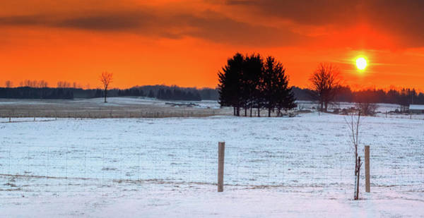 Photograph - Winter Sky by Garvin Hunter