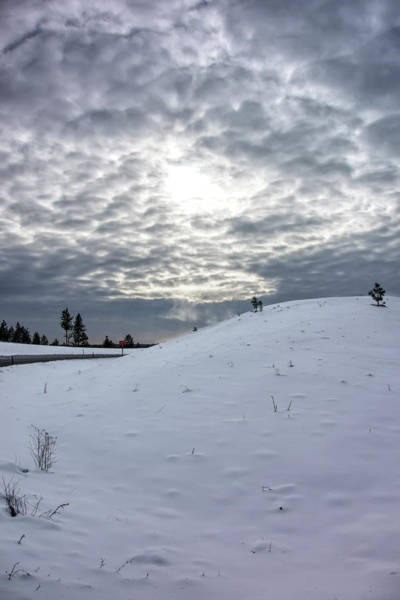 Wall Art - Photograph - Winter Sky Spokane by Daniel Hagerman