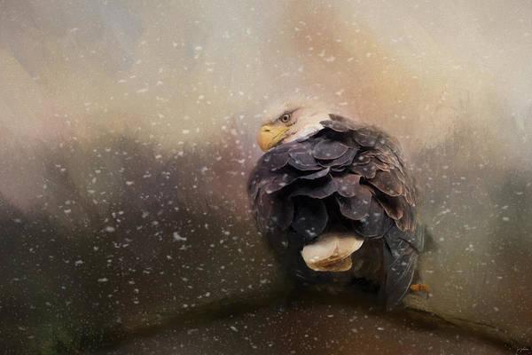 Sneak Photograph - Winter Sneaks In by Jai Johnson