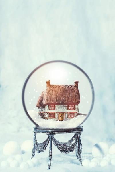 Wall Art - Photograph - Winter Snow Globe by Amanda Elwell