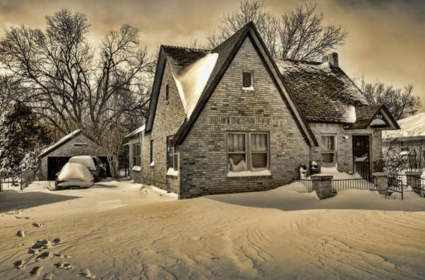 Neighborhood Photograph - Winter Snow II by Ricky Barnard