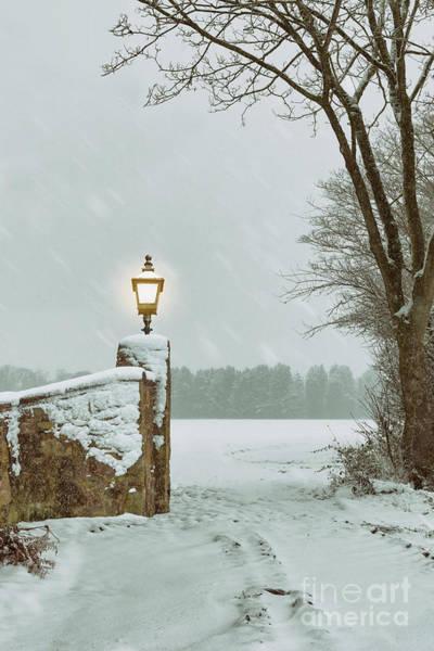 Wall Art - Photograph - Winter Snow Scene by Amanda Elwell