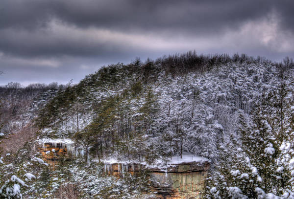 Wall Art - Photograph - Winter Snow Storm by Douglas Barnett