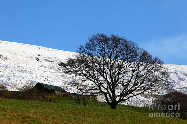 Photograph - Winter Snowfall In South Wales by James Brunker