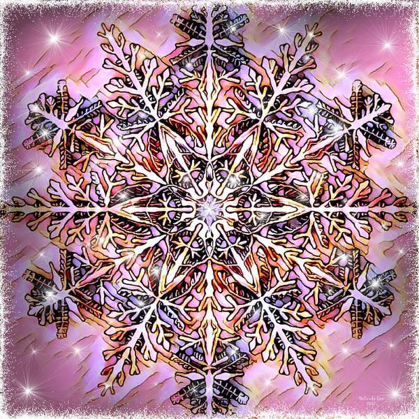 Digital Art - Winter Snowflake by Artful Oasis