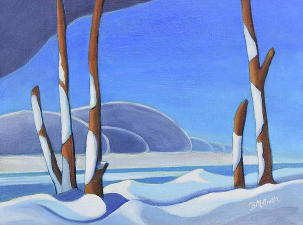 Painting - Winter Solace II by Barbel Smith
