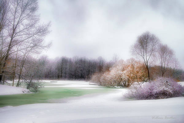 Photograph - Winter Solace by William Beuther