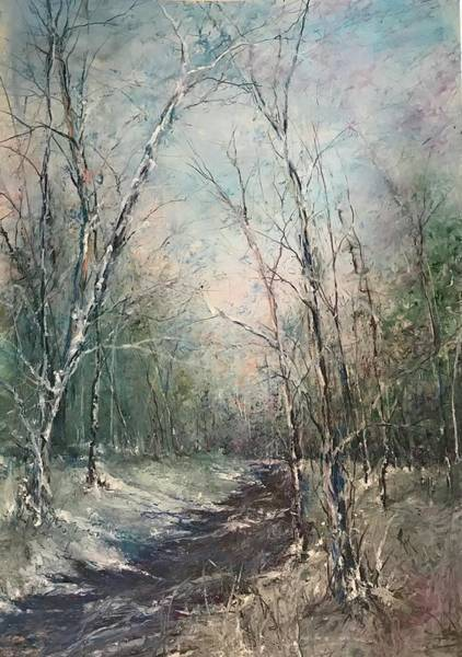 Painting - Winter Sojourn by Robin Miller-Bookhout