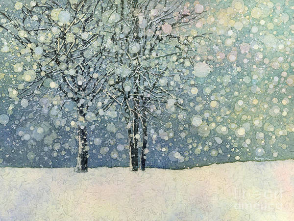 Wall Art - Painting - Winter Sonnet by Hailey E Herrera