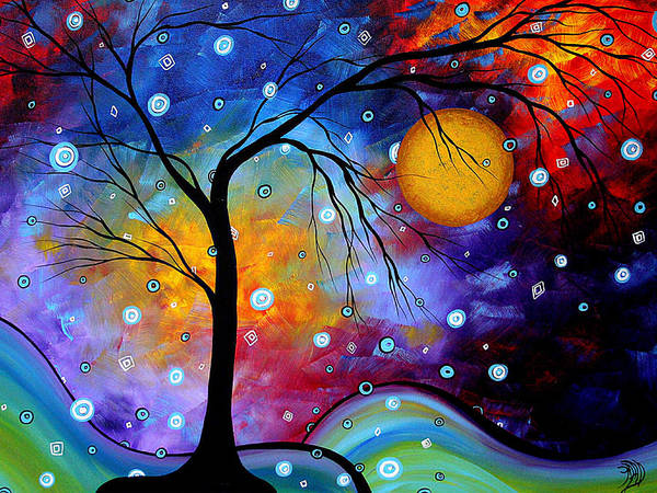 Wall Art - Painting - Winter Sparkle By Madart by Megan Duncanson