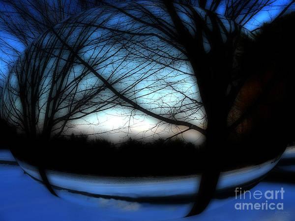 Photograph - Winter Sphere by Jeff Breiman