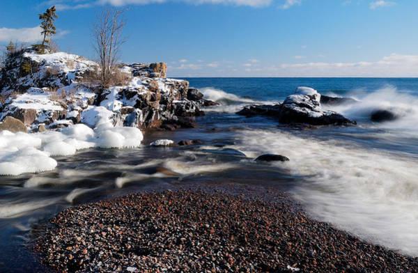 Photograph - Winter Splash by Sebastian Musial