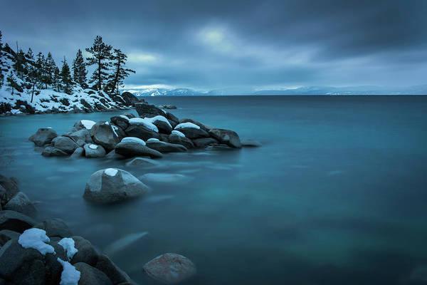 Photograph - Winter Storm By Brad Scott by Brad Scott