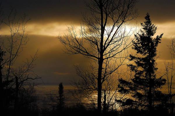 Photograph - Winter Sunrise 1 by Sebastian Musial