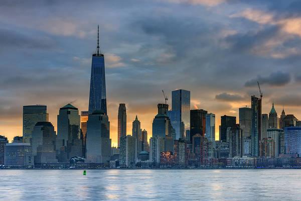 Photograph - Winter Sunrise New York City by Rick Berk