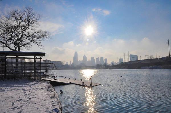 Photograph - Winter Sunrise - Philadelphia by Bill Cannon