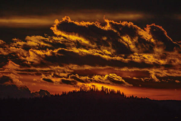 Photograph - Winter Sunset In North Idaho by Albert Seger