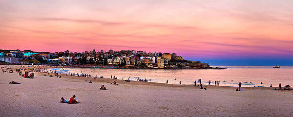 Wall Art - Photograph - Winter Sunset Over Bondi by Az Jackson