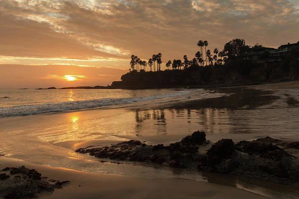 Photograph - Winter Sunset Shaws Cove by Cliff Wassmann