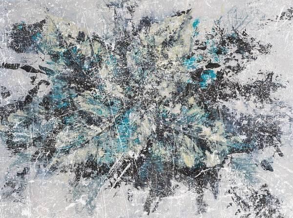 Variation Mixed Media - Winter Tale Variation #2 by Venetka Arsenov
