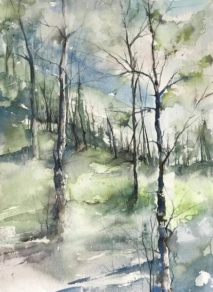 Painting - Winter To Spring by Robin Miller-Bookhout