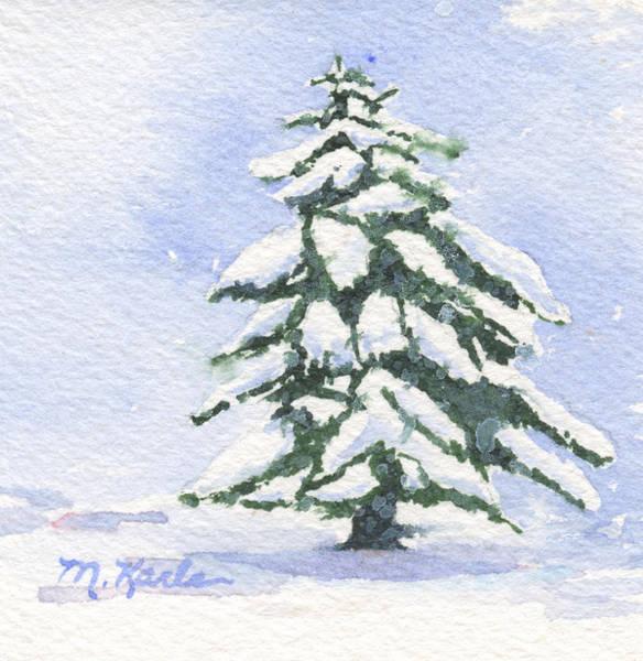 Painting - Winter Tree by Marsha Karle