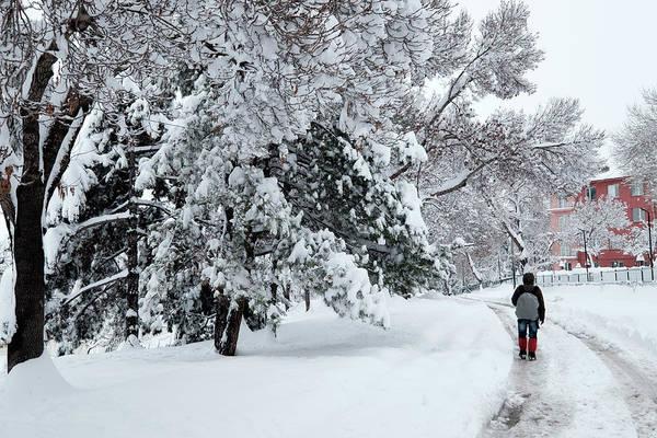 Photograph - Winter Trekking-3 by Okan YILMAZ