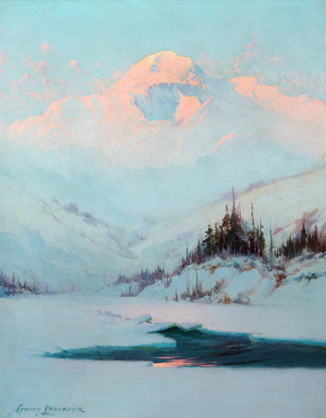 Wall Art - Painting - Winter Twilight by Sydney Mortimer Laurence