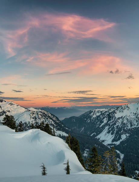 Snowshoe Photograph - Winter Valley Vertical by Ryan McGinnis