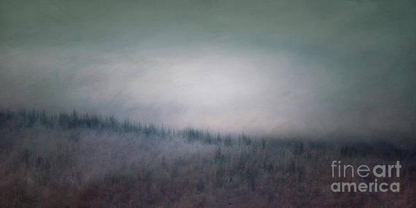 Hillside Photograph - Winter View by Priska Wettstein