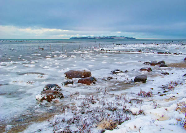 Photograph - Winter View To The Island by Kim Lessel