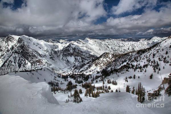 Photograph - Winter Wasatch Views by Adam Jewell