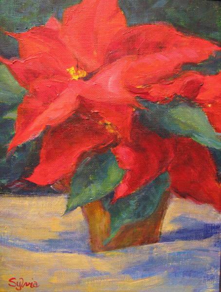 Wall Art - Painting - Winter Wonder by Sylvia Carlton