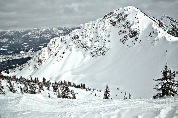 Photograph - Winter Wonderland At Terminator Peak by Adam Jewell