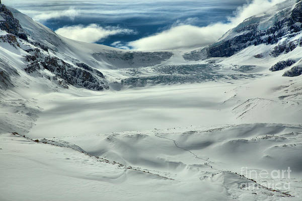Photograph - Winter Wonderland At The Athabsca Glacier by Adam Jewell