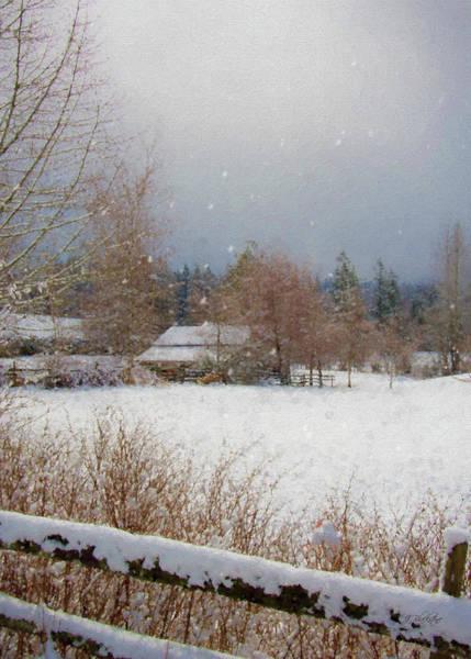 Painting - Winter Wonderland - Country Art by Jordan Blackstone